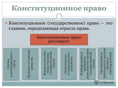 Конституционное (государственное) право Российской Федерации