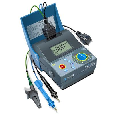 Методика проведения испытания устройств защитного отключения тестером RCD-250