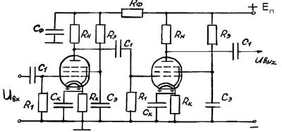 Проектирование электронных усилительных устройств систем автоматического управления
