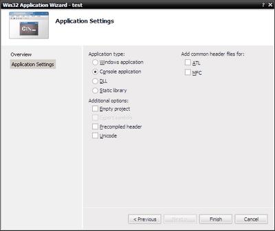 Создание Win32-приложения на Visual C++. Лабораторная работа